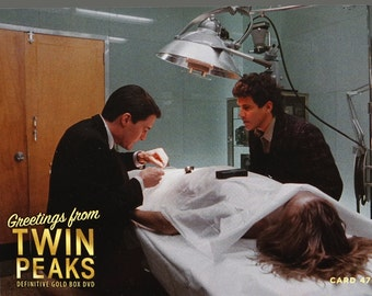 Twin Peaks Gold Box Postcard Card # 49 of 61 Audrey Horne/'s Brother
