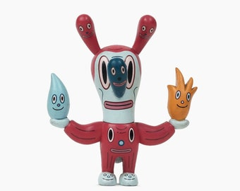 Gary Baseman Vinyl Figurine Fire Water Bunny All Seeing