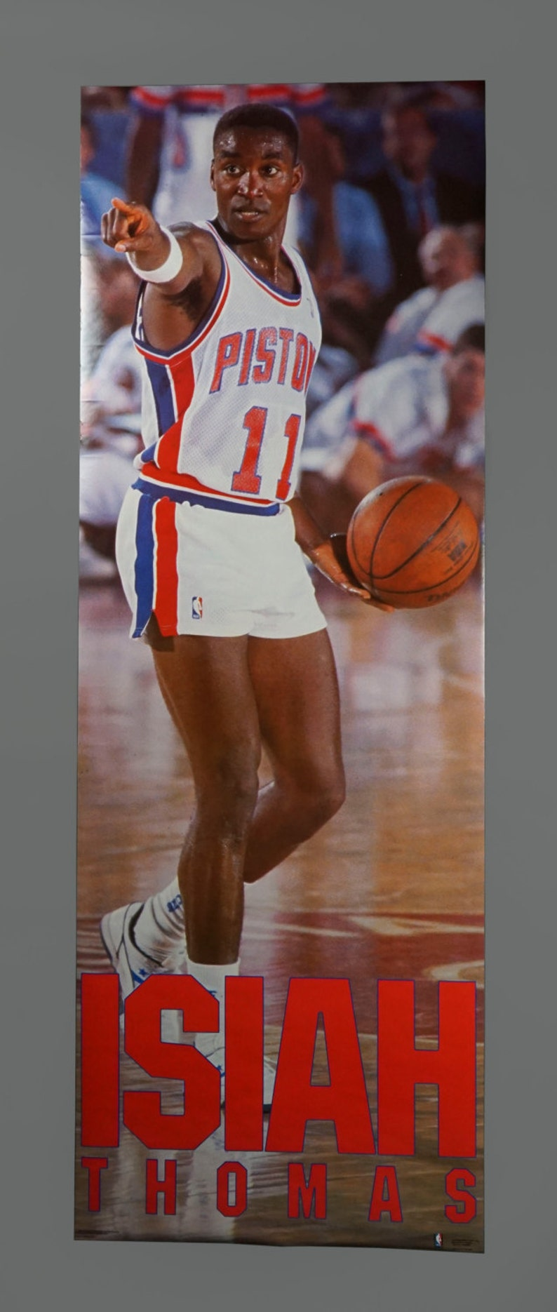 Choose a Size ISIAH THOMAS PISTONS Photo Quality Poster 1