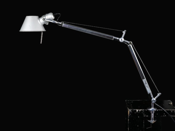 Artemide Tolomeo Mini Table Lamp Designer Industrial Adjustable Mid Century Vintage