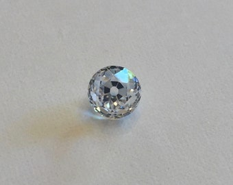 Blast from the past - AMAZING & GIGANTIC 4.11 carat Old Mine Cut White Sapphire