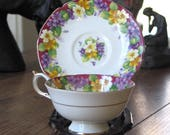 Vintage Paragon Double Warrant Spring Melody Cup and Saucer