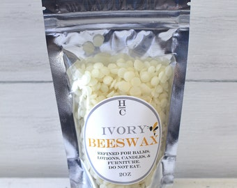 Refined Ivory Beeswax