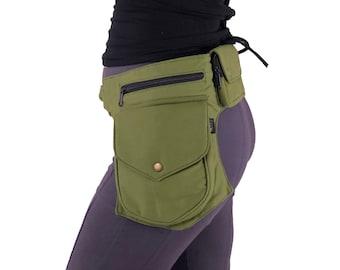 Nomad Belt ~ Mishu ~ Utility belt , Hip bag , Hip belt , Festival belt , Pocket belt