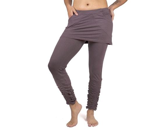 Alternative clothing Ruched Leggings ~ Mishu ~ Yoga wear Active wear Festival clothing