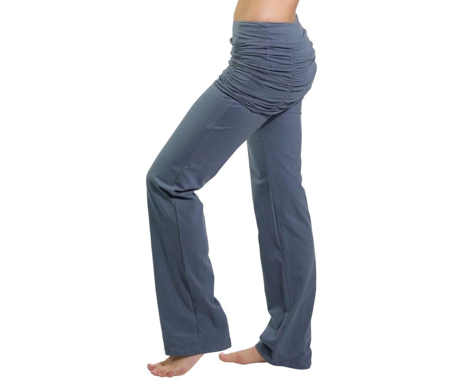 ba838835a28b4 Ruched Skirt Yoga Pants Mishu Yoga Wear Hoop Clothing | Etsy