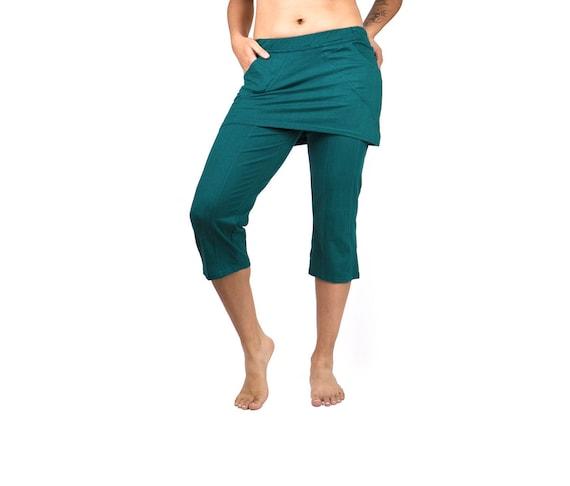 1e1c75d3b8bd10 Skirted Yoga Pant Mishu Festival clothing Yoga wear | Etsy
