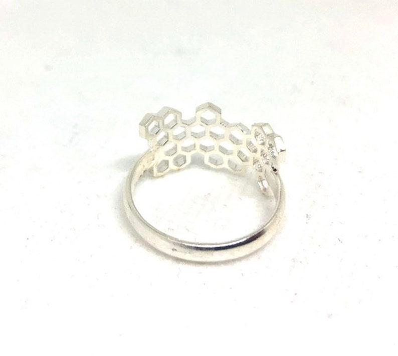 Brass Jewelry Witchy Jewelry Half honey Ring ~ Mishu ~ Elven Jewelry Fairy Jewelry Fae Jewelry