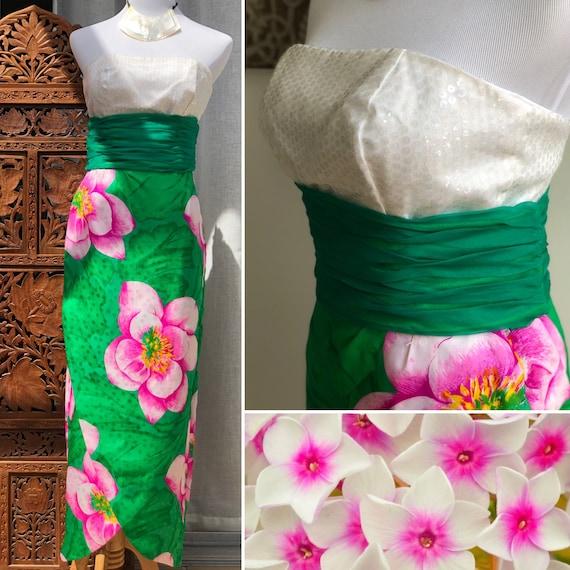 Eugene Alexander Strapless Special Occasion Dress… - image 1