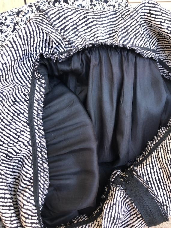 Patty O'Neil long sleeve micro pleat midi dress w… - image 9