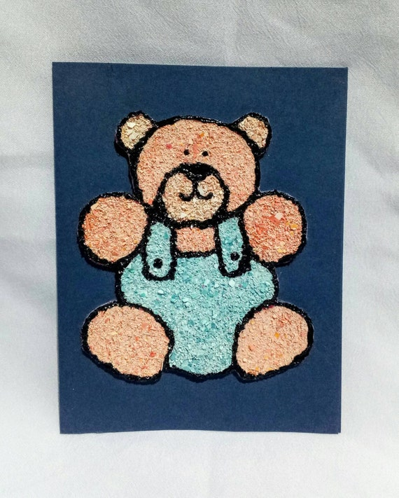 Teddy bear greeting cards set beary nice collection 3d etsy image 0 m4hsunfo