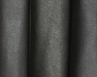 Italian goat leather in black colour
