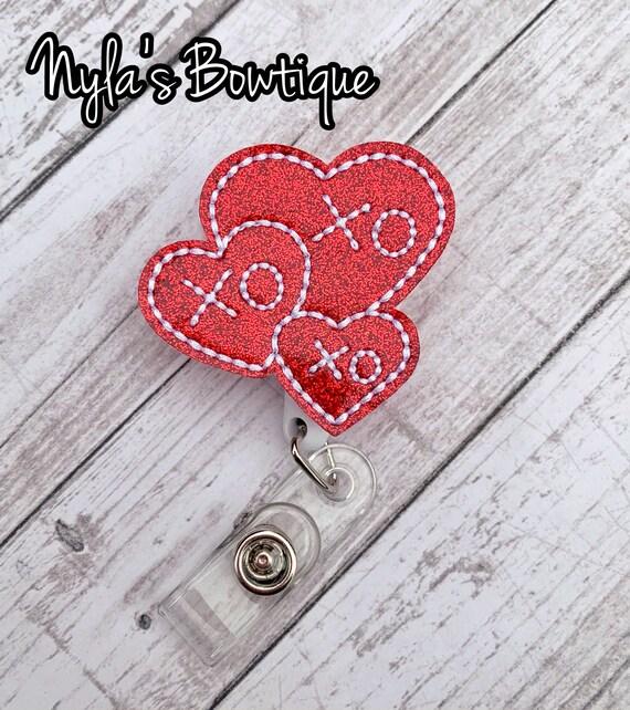 Valentine/'s Day XOXO Badge Reel