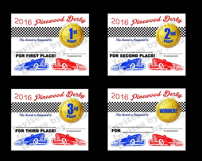 photograph about Free Printable Pinewood Derby Certificates named Pinewood Derby Certification Fixed #110, fill within just, Do it yourself, Printable, Award- Electronic/ Yourself Print/ Quick Down load!