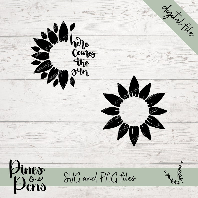 Download Sunflower SVG for Starbucks Cold Cups Here Comes the Sun ...