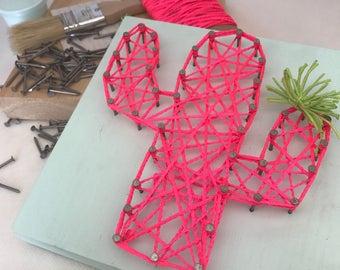 DIY String Art Kit / Craft Kit / Gift for Adults / Gift for Teens / Gift for Kids