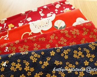 Half yard quilting cotton fabric--cherry blossom pattern