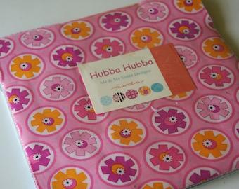 Precut layer cake cotton fabric--Hubba Hubba--by Moda