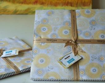 Precut layer cake cotton fabric--willow--by Riley Blake