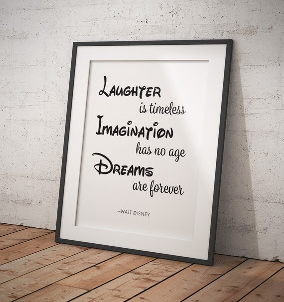 """/""""le rire est intemporel imagination n/'a pas l/'âge et les rêves sont toujours Mickey Mouse"""