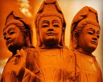 Buddha (3) - statue, New Mexico, Santa Fe