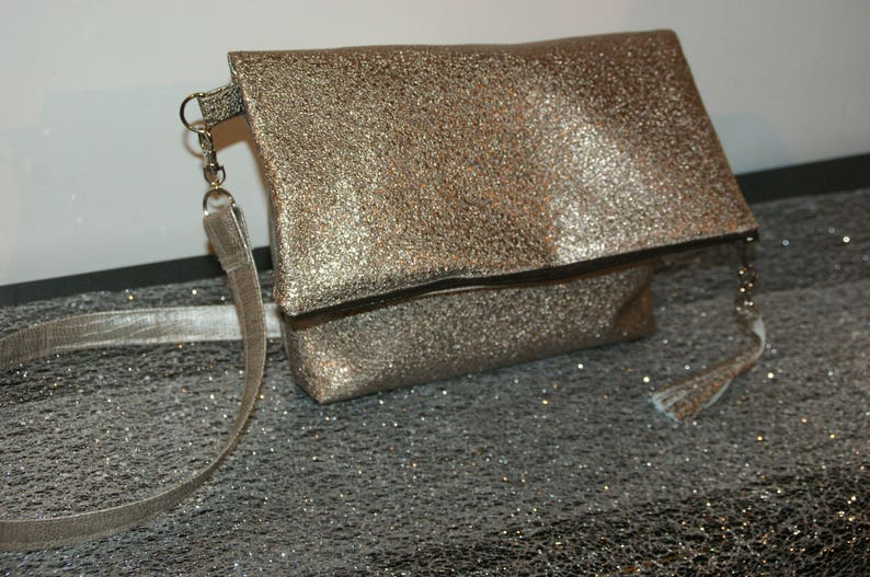 Faux leather pouch image 0