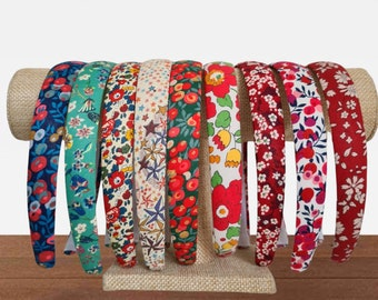 Liberty of London Tana Lawn Alice Band. Handmade and Available in Various Festive Fabrics.