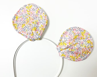 Liberty of London Mouse Ears Head Band. Handmade, and Available in Various Fabrics.