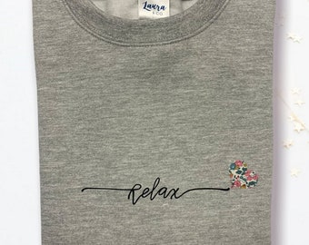 Relax Sweater with Mini Liberty of London Heart