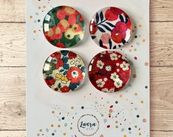 Liberty of London Ceramic Fridge Magnets