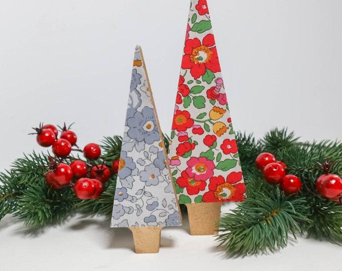 Liberty of London Wooden Christmas Tree Ornament