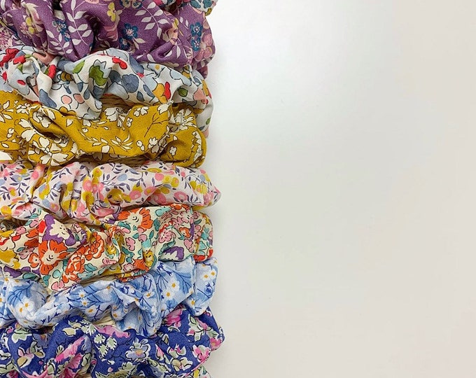 Featured listing image: Liberty of London Fabric Hair Scrunchie. Choose from a range of fabrics