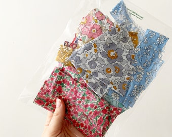 Liberty of London fabric scrap bag