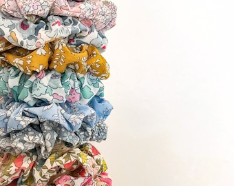 Liberty of London Fabric Hair Scrunchie. Choose from a range of fabrics