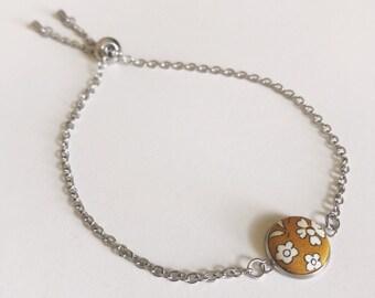 Liberty of London Button Pendant Bracelet