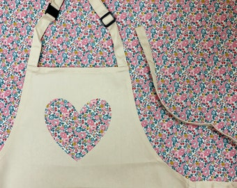 Children's Liberty of London Heart Apron