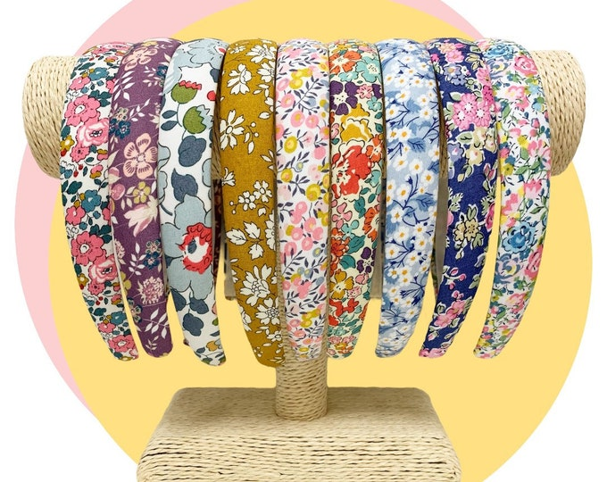 Featured listing image: Liberty of London Tana Lawn Alice Band. Handmade and Available in Various Fabrics.