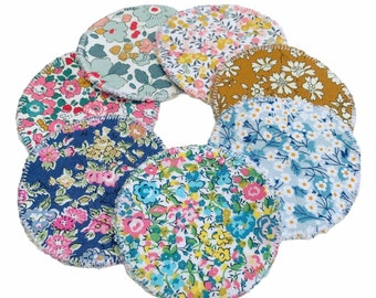 Set of 7 Liberty of London Reusable Cleansing Face Pads