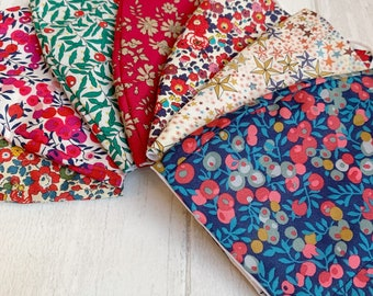 CLEARANCE Liberty of London Reusable Face Mask, Face Covering, Available in a range of Liberty fabrics.