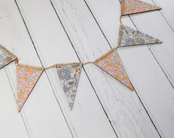 Liberty of London Wooden Bunting