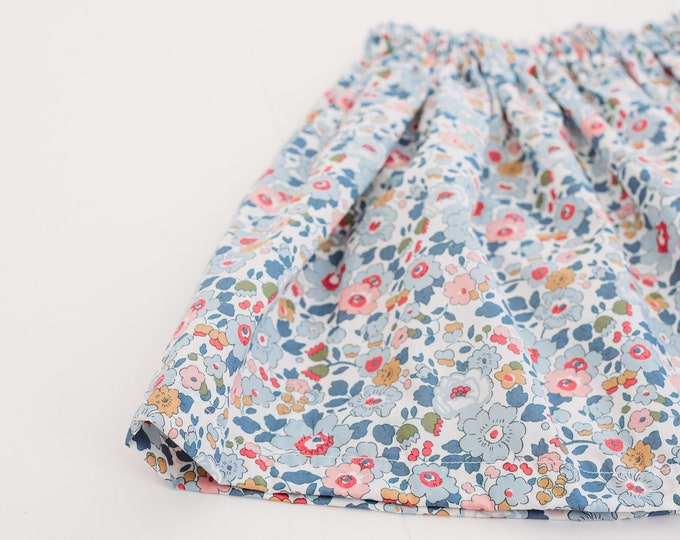 Featured listing image: Children's Elasticated Skirt, Handmade in a Liberty of London Tana Lawn fabric of your choice