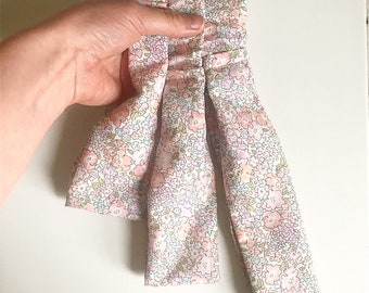 Toddler Elasticated Headband, handmade using a Liberty of London fabric of your choice.