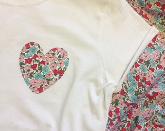 Liberty of London Heart Tshirt