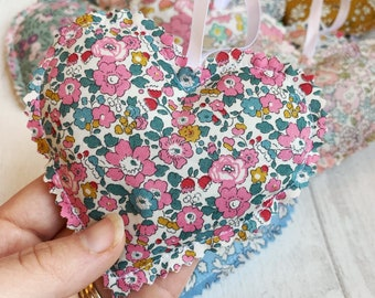 Hanging Liberty of London Lavender Heart Sachet