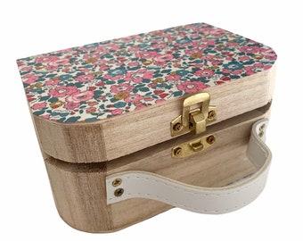 Mini Liberty of London Wooden Suitcase