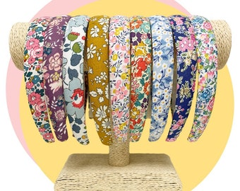 Liberty of London Tana Lawn Alice Band. Handmade and Available in Various Fabrics.