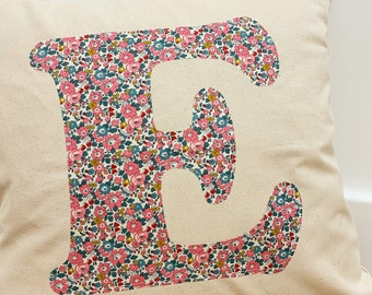 Personalised Liberty of London Cushion Cover, choose from a range of Liberty fabrics.