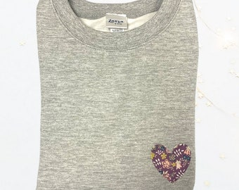 Mini Liberty of London Heart Sweater