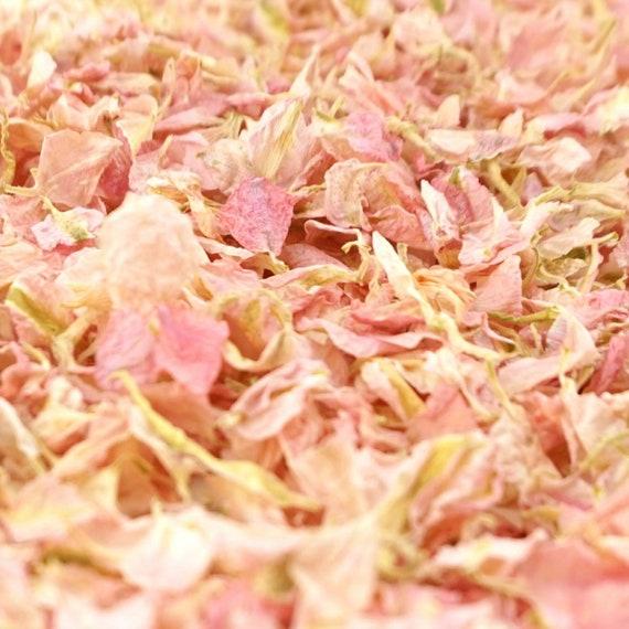 Delphinium Dried Petal Wedding Confetti Eco-Friendly Biodegradable Natural Candy - Half Litre, 1 Litre, 5 Litres or 10 Litres