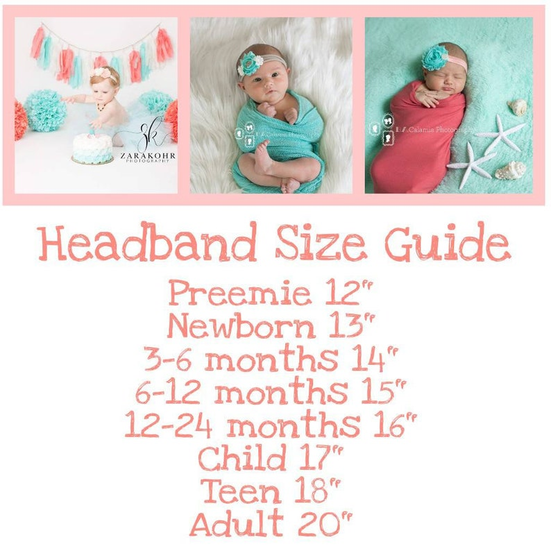 Brown and Beige Baby Headband Newborn Headband Beige Headband Fall Baby Headband Thanksgiving Headband Autumn Headband Brown Headband